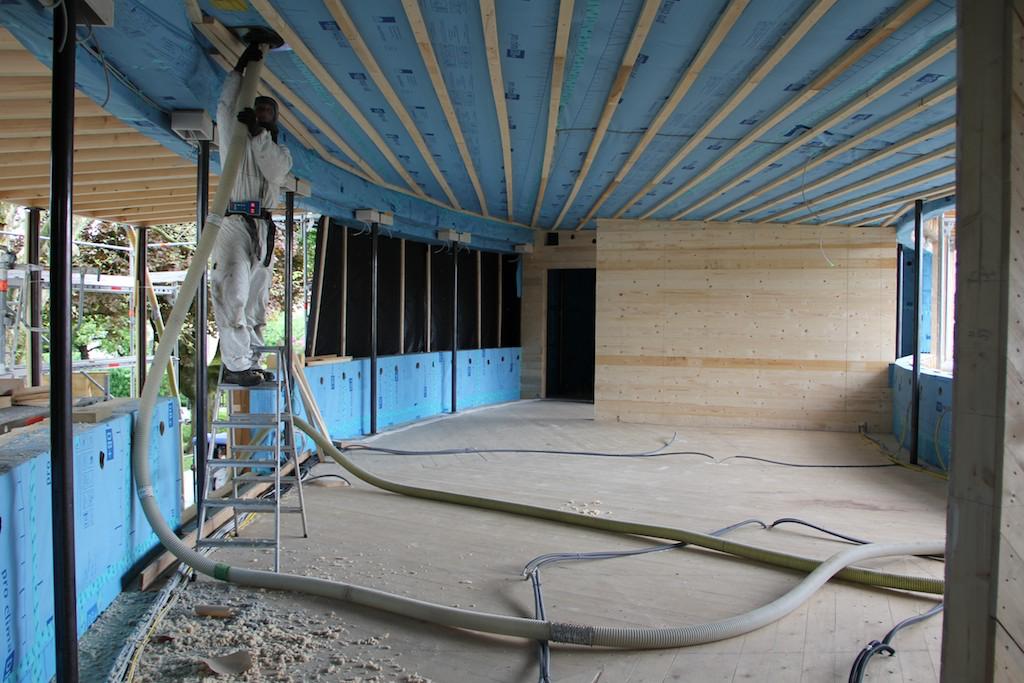 wood chip insulation